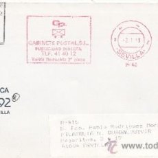 Sellos: FRANQUEO MECANICO 19160 SEVILLA, COLABORADORA, RUMBO AL 92,. Lote 38774508