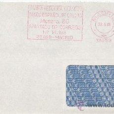 Sellos: FRANQUEO MECANICO 19059 MADRID, TARIFA REDUCIDA CLASE 2ª, BANCO ESPAÑOL DE CREDITO . Lote 38774586