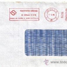 Sellos: FRANQUEO MECANICO 18718 SEVILLA, TRANSPORTES URBANOS DE SEVILLA, S.A.M. . Lote 38778194