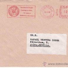 Sellos: FRANQUEO MECANICO 18625 SABADELL (BARCELONA), AGRUPACION NUMISMATICA SABADELL, SOCIEDAD CULTURAL. Lote 38778413
