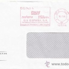 Sellos: FRANQUEO MECANICO 18586 MADRID, DUNIA, MUY INTERESANTE, NATURA, SER PADRES, G+J ESPAÑA,S.A.. Lote 38778424