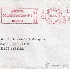 Sellos: FRANQUEO MECANICO 24855 MODIFICADO SEVILLA, COLABORADORA, . Lote 38784130
