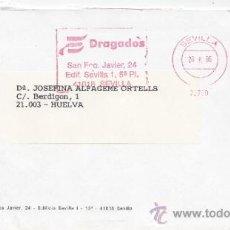 Sellos: FRANQUEO MECANICO 22709 SEVILLA, DRAGADOS, . Lote 38786699