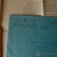 Sellos: 2 CARTAS ENVIADAS POR FALANGE ESPAÑOLA TRADICIONALISTA A SUS AFILIADOS+SOBRE 1964 . Lote 39018763