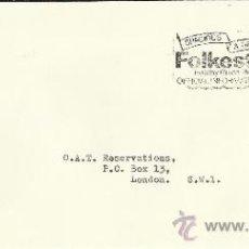 Sellos: INGLATERRA CC CON MAT TURISTICO FOLKESTONE . Lote 39113684