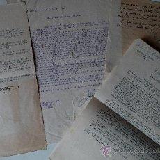 Sellos: 4 CARTAS ORIGINALES FIRMADAS POR EL CRITICO TAURINI, FELIPE GARCIA CANTALEJO (AÑOS 50) . Lote 45163545