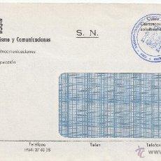 Sellos: CORREOS SEVILLA MARCA DIRECCION PROVINCIAL DEL MINISTERIO DE TRANSPORTES TURISMO Y COMUNICACIONES, +. Lote 39639501