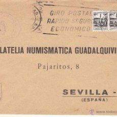 Sellos: CORREOS MIAJADAS (CACERES) MARCA ADMON. DE CORREOS, MATº RODILLO GIRO POSTAL RAPIDO SEGURO ECONOMIC+. Lote 39668206