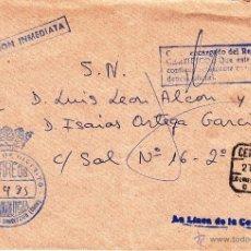 Sellos: ,,FRANQUICIA JUZGADO DE DISTRITO, LA LINEA DE LA CONCEPCION (CADIZ), MATº CERTIFICADO, . Lote 39943353