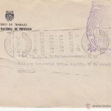 Sellos: ,,FRANQUICIA AMBULATORIO DEL SEGURO SOCIAL DE ENFERMEDAD, CONSTANTINA (SEVILLA), MATº RODILLO, . Lote 40078031