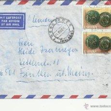 Selos: FUENGIROLA CC ALEMANIA SELLO ROMA LEGIO VII LEON MONEDA ROMANA UN SELLO ROTO. Lote 39955582