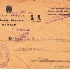 Sellos: ,,MARCA ACADEMIA ESPECIAL DE POLICIA ARMADA, DIRECCION, . Lote 40135796