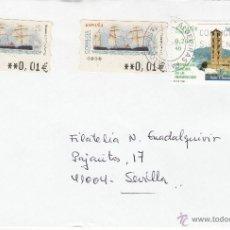 Sellos: ETIQUETA ATMS Nº 3238, 3238 EURO C.2. 62(2) Y SELLO MATº RODILLO 11 ALGECIRAS PABELLON POSTAL (CADIZ. Lote 40326423