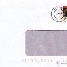 Sellos: ETIQUETA ATMS Nº 7622 EURO C.2.113, MATº RODILLO SEVILLA SUC. 1, POR SU SEGURIDAD, FAX Y BUROFAX,. Lote 40334214