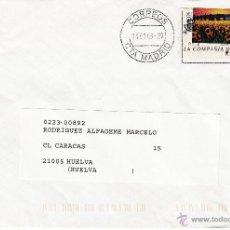 Sellos: ETIQUETA ATMS Nº 0972 EURO C.2.113, MATº RODILLO CORREOS CTA MADRID, CORREOS LA COMPAÑIA DE TODOS,. Lote 40334305