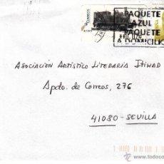 Sellos: ETIQUETA ATMS Nº 4399 EURO C.2.108 Y SELLO, MATº. Lote 40335397