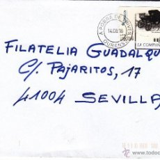 Sellos: ETIQUETA ATMS Nº 9450 EURO C.2.107, MATº RODILLO A POBRA DE TRIVES (OURENSE), CORREOS LA COMPAÑIA. Lote 40335450