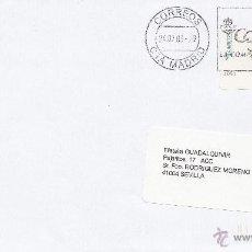 Sellos: ETIQUETA ATMS Nº 1061 EURO C.2.107, MATº RODILLO CORREOS CTA MADRID, CORREOS LA COMPAÑIA DE TODOS, . Lote 40335828