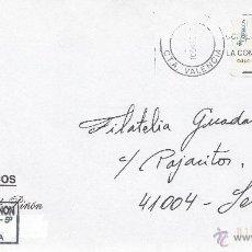 Sellos: ETIQUETA ATMS Nº 0410 EURO C.2.107, MATº RODILLO C.T.A. VALENCIA, CORREOS LA COMPAÑIA DE TODOS, . Lote 40335844