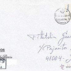 Sellos: ETIQUETA ATMS Nº 0410 EURO C.2.107, MATº FECHADOR -46- VALENCIA SUC.15, CORREOS,. Lote 40335853