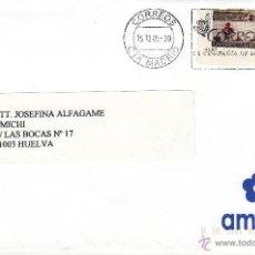 Sellos: ETIQUETA ATMS Nº 4197 EURO C.2.106, MATº RODILLO CORREOS CTA MADRID, CORREOS LA COMPAÑIA DE TODOS,. Lote 40336608
