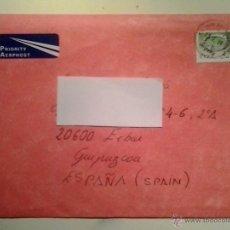 Sellos: MARCOFILIA - SOBRE CIRCULADO PRIORITARIO - IRLANDA-EIBAR - 1999.. Lote 40383668