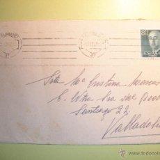 Sellos: SOBRE CIRCULADO SALAMANCA-VALLADOLID - 1958. Lote 40467298