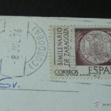 Sellos: POSTAL CON MATASELLO RODILLO CIR Nº 4 CÓRDOBA. Lote 41071353