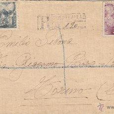Sellos: CARTA GOBIERNO MILITAR SAN SEBASTIÁN CENSURA MILITAR E. M. DE PUENTEAREAS PONTEVEDRA - ITALIA 1940. Lote 41559964