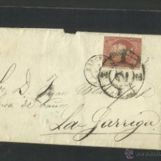 Sellos: AÑO 1859- BARCELONA LA GARRIGA - (N-311). Lote 42601628