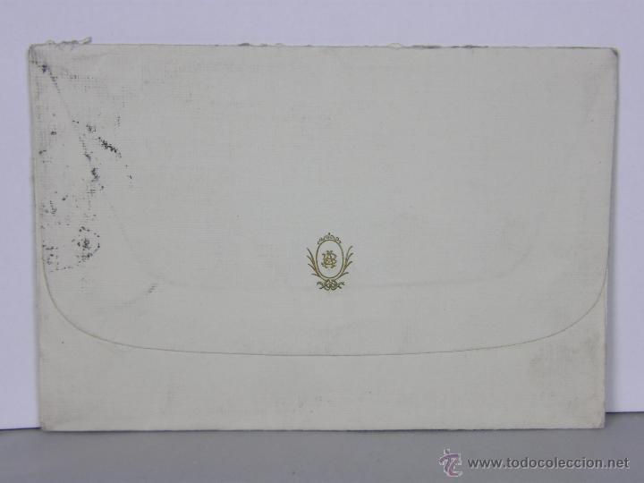 Sellos: sobre circulado 23 Julio 1915 Escorial Madrid Fuenterrabia sello 15 cs Alfonso XIII - Foto 2 - 42936030