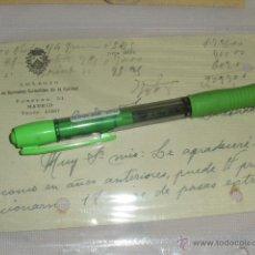 Sellos: COLEGIO CARMELITAS DE LA CARIDAD, MADRID. TARJETA POSTAL.. Lote 43378417