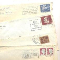 Sellos: HISTORIA POSTAL LOTE DE CARTAS DE EUROPA. Lote 43779126