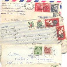 Sellos: HISTORIA POSTAL CARTAS DE PAISES EUROPA Y AMERICA. Lote 43779149