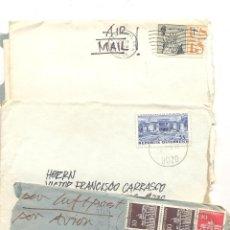 Sellos: HISTORIA POSTAL CARTAS DE PAISES EUROPA Y AMERICA. Lote 43779184