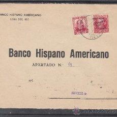 Sellos: .612E SOBRE LORA DEL RIO A SEVILLA, FRANQUEO MIXTO REPUBLICANO Y PATRIOTICO SEVILLA 25HI SOBRECARGA+. Lote 44069761