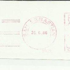 Sellos: SAN SEBASTIAN GUIPUZCOA FRANQUEO MECANICO 17479. Lote 45879660
