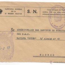 Sellos: FRANQUICIA ESTADO MAYOR 5ª REGION MILITAR.. Lote 48322075