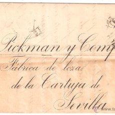 Sellos: CARTA MADRID SEVILLA 1899. Lote 8578347