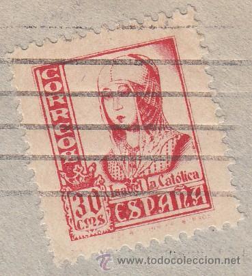 Sellos: .350 SOBRE BILBAO A SEVILLA, FRANQUEO 823 VARIEDAD DE TAMAÑO, CENSURA B-61-2 EN VIOLETA - Foto 2 - 10327581