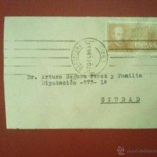 Timbres: SOBRE CON MATASELLOS MECÁNICO DE BARCELONA, 17 DICIEMBRE 1955, EDIFIL 1167. Lote 52539579