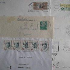 Sellos: 6 SOBRES MATASELLADOS DE ALEMANIA. REF: T08. Lote 53433644