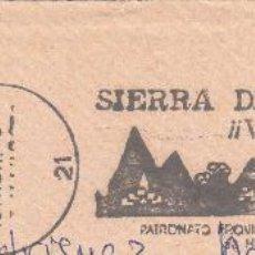 Sellos: SOBRE COMPLETO. MATº RODILLO SIERRA DE HUELVA ¡¡VISITELA!!. Lote 54525571