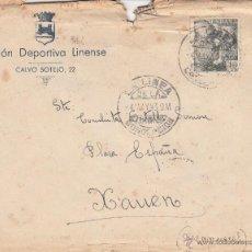 Sellos: SOBRE COMPLETO. CIRCULADA DE LA LINEA DE LA CONCEPCIÓN A CHAOUEN (MARRUECOS). Lote 54526038