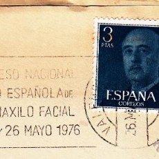 Sellos: SOBRE COMPLETO. MATº RODILLO IV CONGRESO NACIONAL SOCIEDAD ESPAÑOLA DE CIRUGÍA ORAL Y MAXILO FACIAL.. Lote 54526137