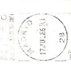 Sellos: SOBRE COMPLETO. MATº RODILLO X CAMPEONATO DEL MUNDO DE BALONCESTO. MADRID 17-20 JULIO 1986. DEPORTES. Lote 54593584