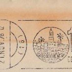 Sellos: SOBRE COMPLETO. MATº RODILLO '1ER CONGRESO DE HISTORIA DE ANDALUCIA. CORDOBA-DICIEMBRE 1976'. Lote 54594791