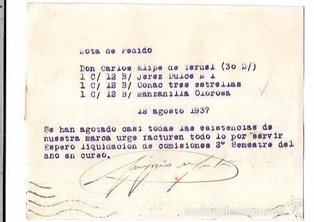 Sellos: CENSURA MILITAR TERUEL. 1937. - Foto 2 - 55821565