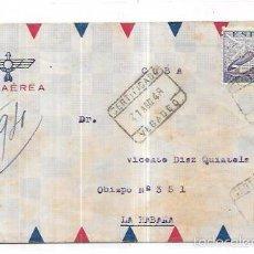 Sellos: SOBE DIRIGIDO POR VIA AEREA A CUBA. . Lote 57336596