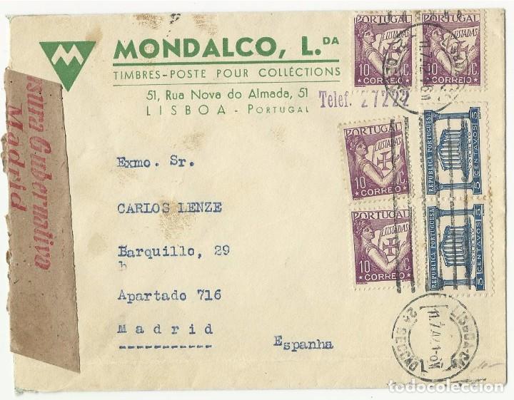 MONDALCO - TIMBRES POSTE POUR COLLETIONS. (Sellos - Historia Postal - Sello Español - Sobres Circulados)
